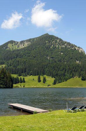 Spitzingsee Lake in Bavaria