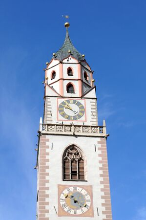 meran: St. Nicholas church at Merano
