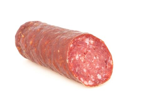farbe: Fresh italien wild boar salami