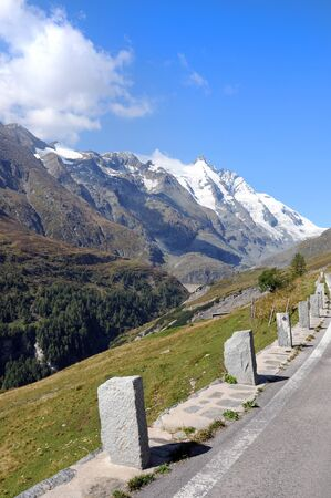 grossglockner: Road to the Franz-Josefs-Height at the Grossglockner
