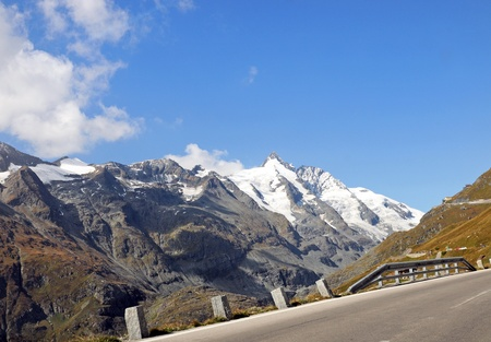 Road to the Franz-Josefs-Height at the Grossglockner Stock Photo - 8668607