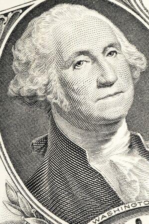 US-dollar-bill in a macro shot