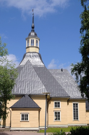 The Lappee Church (Lappeen Kirkko) at Lappeenranta in Finland was built in 1794 Stock Photo - 10055603