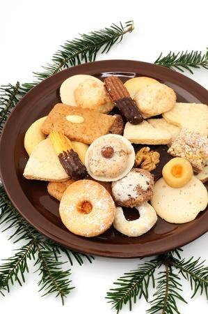 Fresh Christmas cookies photo