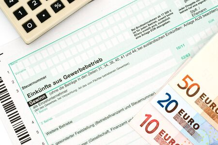 tax form: German tax form form