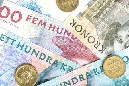 scandinavian peninsula: Swedish crowns are one of the most stron currencies in Europe