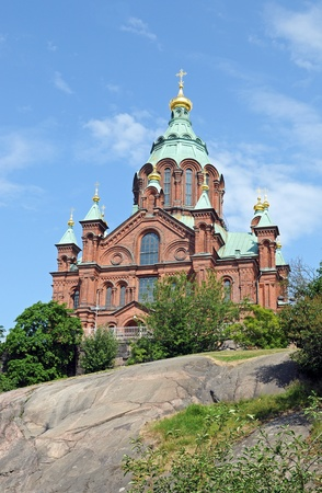russian orthodox: Uspenski Cathedral at Helsinki is the largest russian orthodox church of Norther Europe
