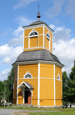 scandinavian peninsula: The church of Himanka, since 2010 belonging to Kalajoki Stock Photo