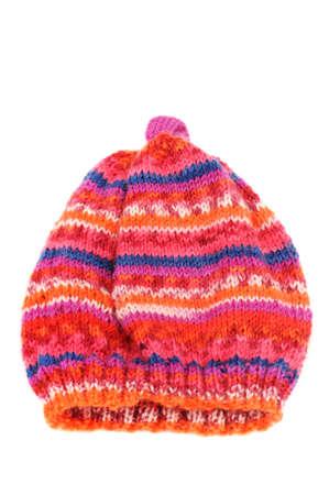 Homemade Baby Hut vor einem weißen Hintergrund