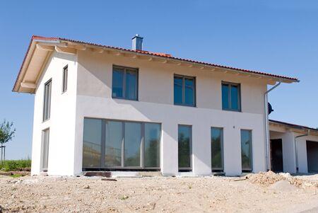 New built single family home