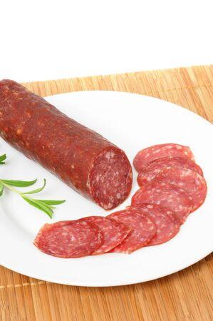 italien: Fresh italien wild boar salami