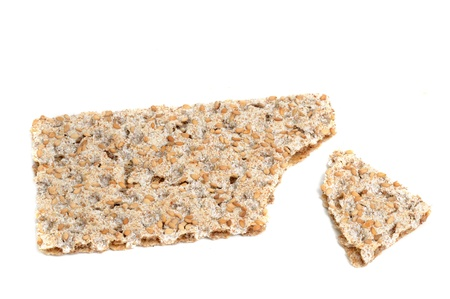 Fresh crispbread in a studio shot Stock Photo - 13015296