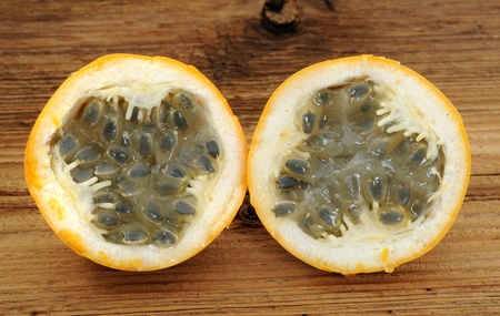 Fresh passionfruit in a studio shot Stock Photo - 13330547