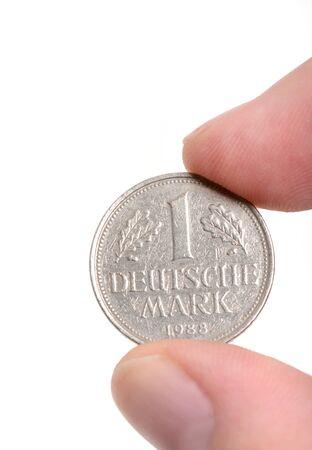 deutschemarks: One Deutschmark, meanwhile not valid any more