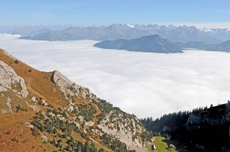 On the Pilatus mountain in Central Switzerland photo