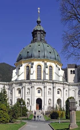 ettal: Ettal monastery in Bavaria
