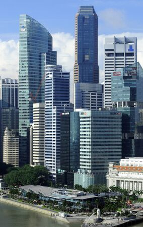 Singapore is a modern, clean capital in South-east-asia