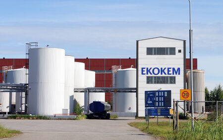 landfills: Ekokem departement near Pori in Finland