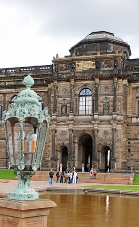 balthasar: The Dresdner Zwinger is one of the most famous touristic attractions of Dresden Editorial
