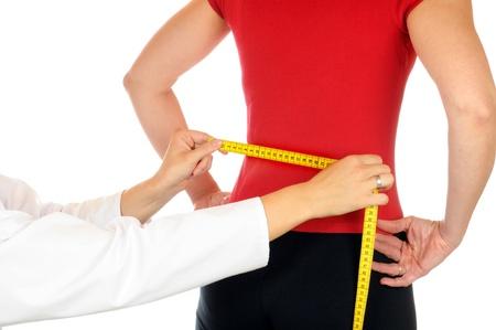 Woman at the orthopedist  photo