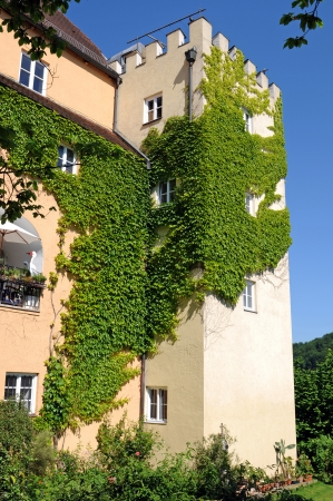 gabled: Wasserburg am Inn was named after Wasserburg castle, situated high over the old town Editorial