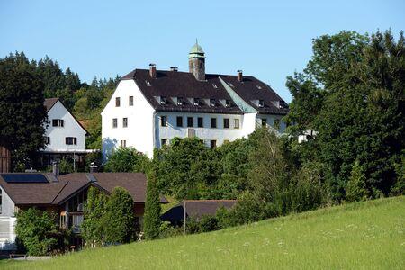 peck: The little bavarian village Oberbrunn with Oberbrunn caste, a conference center for Community Building after Scott Peck