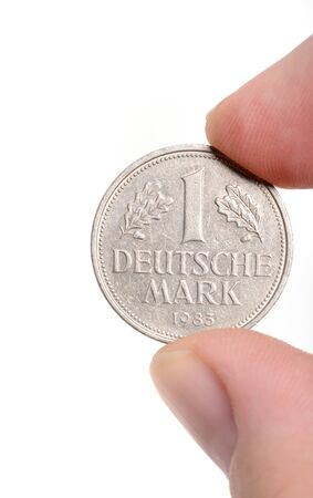 deutschemarks: One Deutschmark, meanwhile not valid any more
