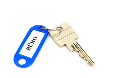 key fob: Key fob in a studio shot Stock Photo
