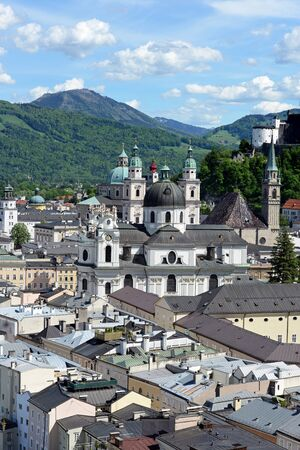 Salzburg in Austria is named World Culture Heritage photo