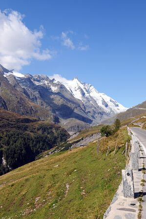 Road to the Franz-Josefs-Height at the Grossglockner Stock Photo - 15465892