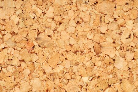 Brown cork mat in a studio shot photo