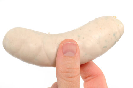 weisswurst: The Weisswurst is a traditional bavarian cuisine