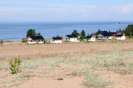 scandinavian peninsula: The dunes of Kalajoki in Finland should be the most northern dunes worldwide Stock Photo