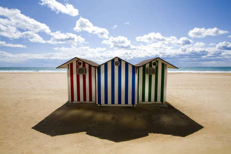 briny: cabins on a beach in benidorm