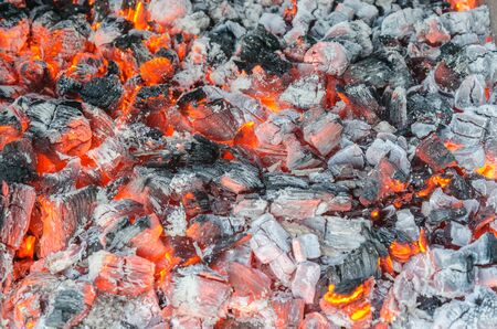 ash: charcoal ash coals background