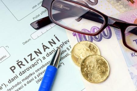 formality: Czech property tax
