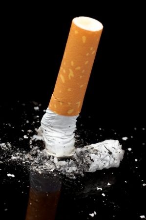 utilized: Cigarette  Stock Photo
