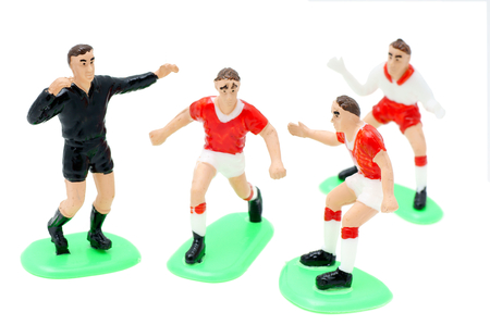 toyshop: Football is a game-plastic figures