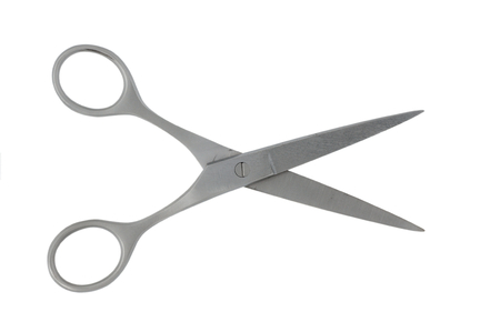 Metal scissors  photo