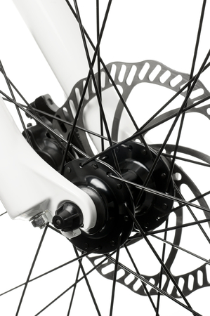 centric: Center of the bicycle- hub