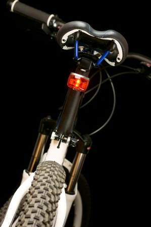 velocipede: Illuminated mountain bike