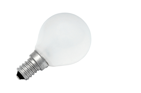 electronically: Electric light bulb  Stock Photo