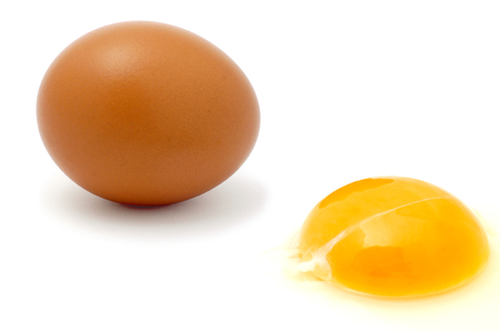 cackle: Eggs  Stock Photo