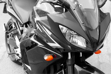 gasoline powered: Road motorcycle