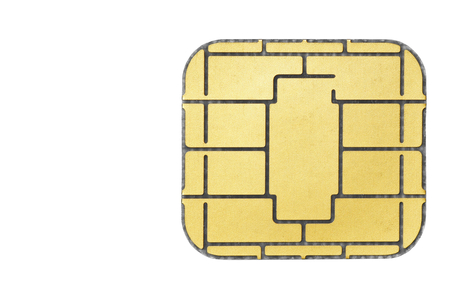 electronically: Chip card