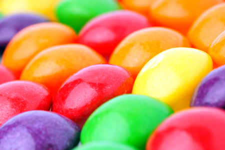 shoppe: Colored candies  Stock Photo
