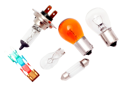 Car bulbs and fuses
