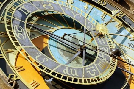 coefficient: Detail of astronomical clock hours Czech Republic