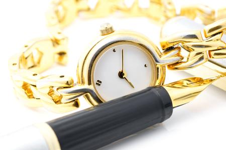 bandwagon: Writing Time  Stock Photo