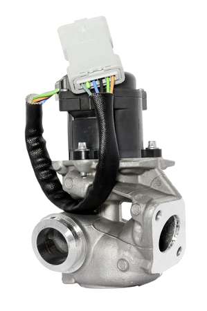 自動車排気ガス再循環バルブ排気ガス中の有害物質を減らすために弁 写真素材